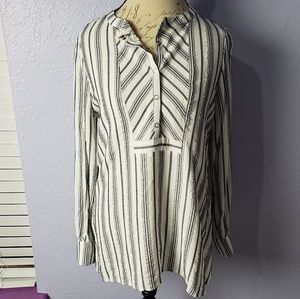 Soft Surroundings Oversized Stripes Comfortable